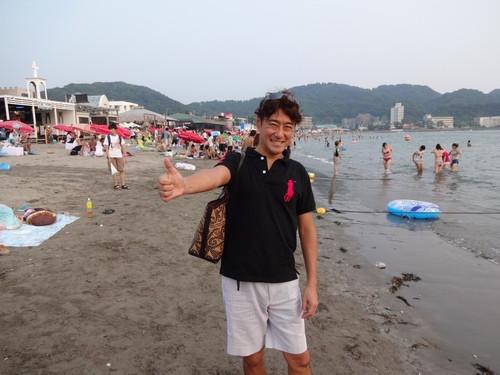 中年男子が人生を謳歌する!世界を旅するフリーな一級建築士増山大のブログ-海岸02